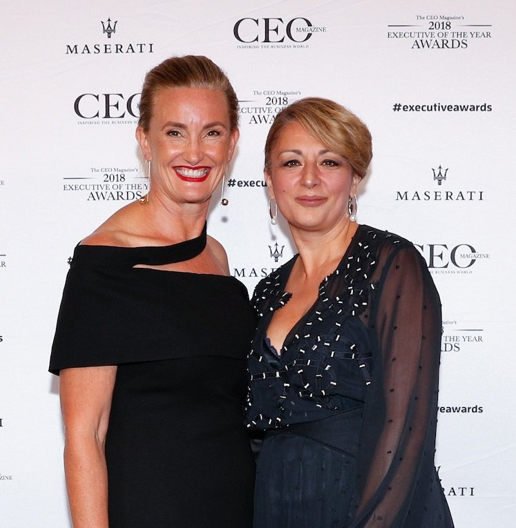 Mary-Lou and Francesca Conte