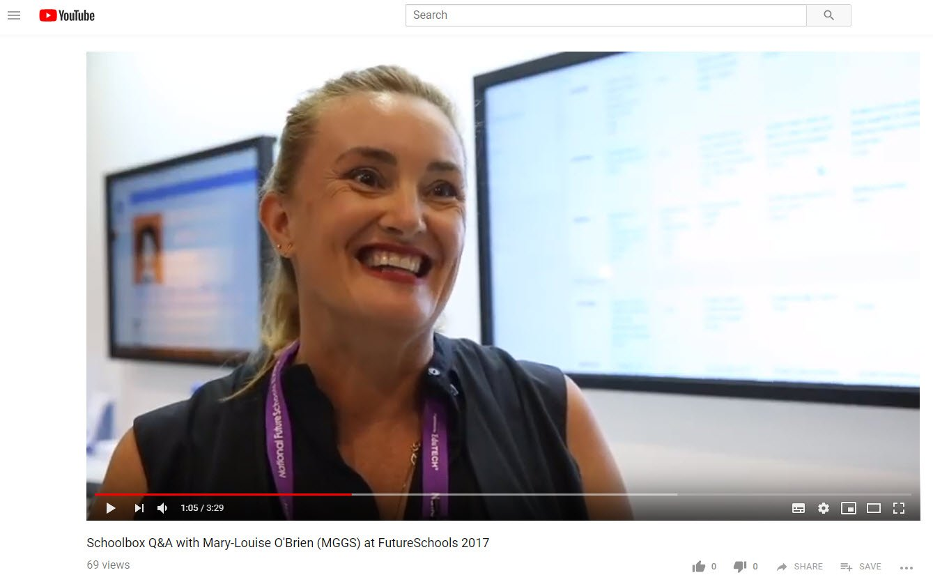 Interview from the Future Schools Conference
